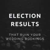 Election Results That Ruin Your Wedding Bookings
