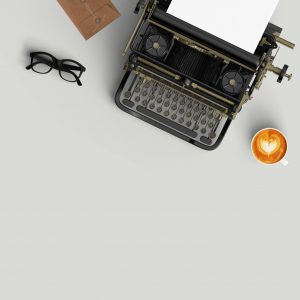 typewriter - dear wedding planners - blog photo cropped