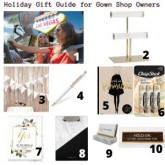 Holiday Gift Guide for Gown Shop Owners