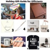 Holiday Gift Guide for Officiants