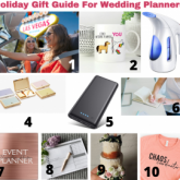 Holiday Gifts for Wedding Planners